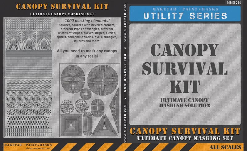 Canopy Survival Kit – Ultimate Canopy Masking Set